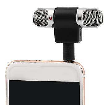 Micro mini-micro numérique portable microphone stéréo pour enregistreur téléphone mobile