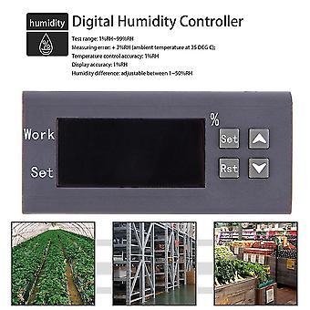 Lichtgewicht led digitale thermostaat temperatuur vochtigheid controller meter