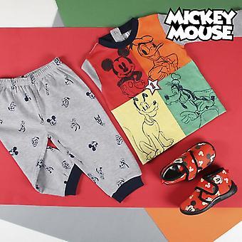 Baby Pyjamas Mickey Mouse Grey