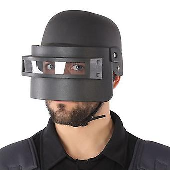 Police Helmet Black