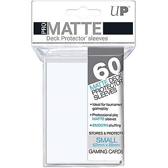 Ultra Pro White Matte Small Deck Protectors - 60 Cards