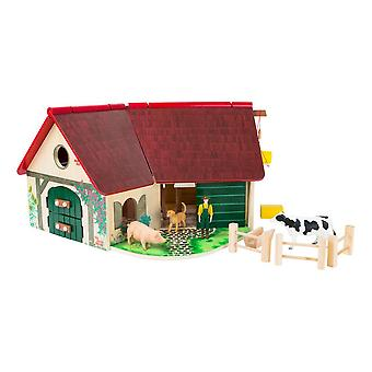 Small Foot Woodfriends Farm Toy Playset