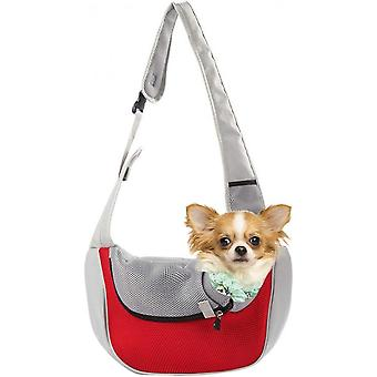 Dog Backpack - A Pet Backpack With Legs Facing Forward, Suitable For Small And Medium-sized Dogs, Travel Bag For Hands-free Cat Approved By Airlines,