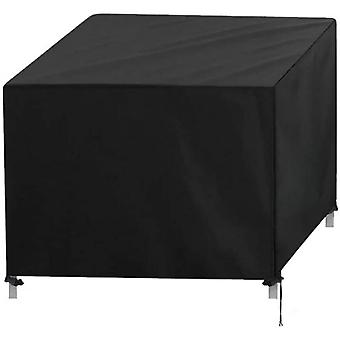 Garden Furniture Cover, 420d Protective Cover Tarpaulin Cover 123*123*74cm