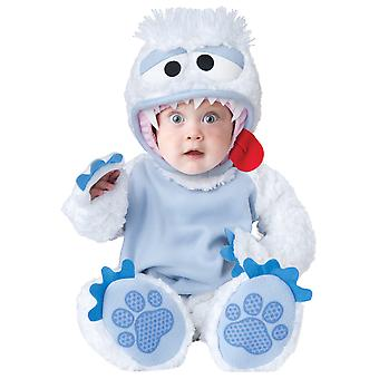 Abominable Snowbaby Yeti Bigfoot Deluxe Toddler Boys Costume