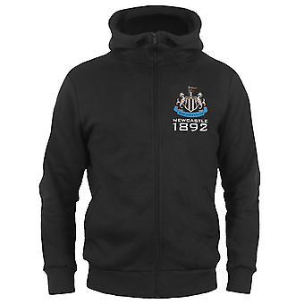 Newcastle United Boys sudadera con capucha zip fleece niños regalo oficial de fútbol