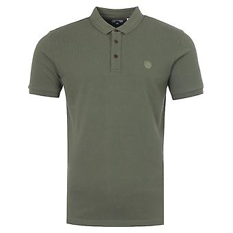 Pretty Green Military Polo Shirt - Khaki
