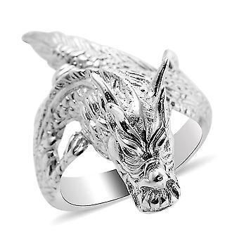Royal Bali Silber Drachen ring für Frauen gestempeltes Geschenk für Freundin / Frau (P)