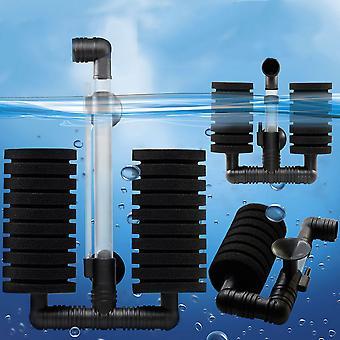 New Practical Aquarium Biochemical Sponge Filter Fish Shrimp Tank Air Pump