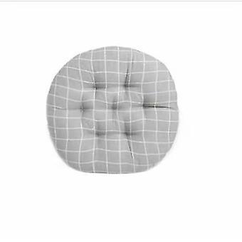Chaise carrée Épaississante Couleur UnIe Peluche Coussin - 40 * 45cm