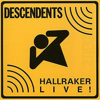 Descendants - Hallraker-Live ! [CD] USA import
