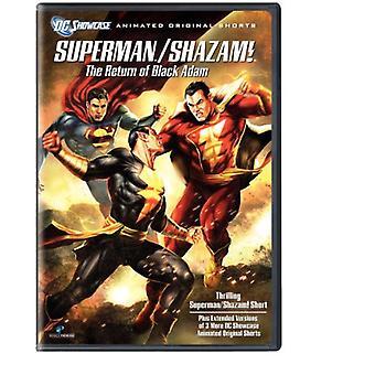 Ritorno dell'importazione USA Black Adam [DVD]