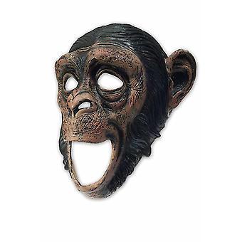Bewegende mond Deluxe chimpansee LaTeX masker past aap