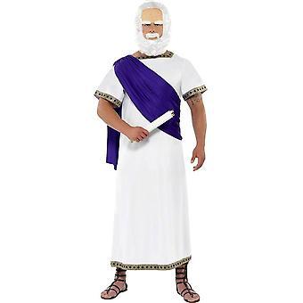 Socrates filosoof Grieken kostuum 2-delig denkers carnaval