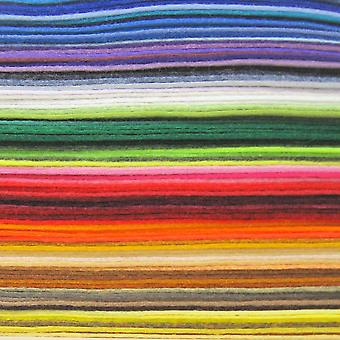 Craft Planet Individual Felt A4 Sheet | Colours Listed