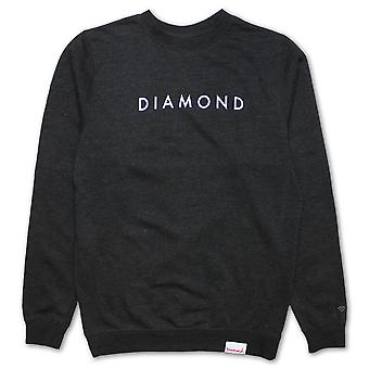 Charbon de bois Futura Sweatshirt Diamond Supply Co.