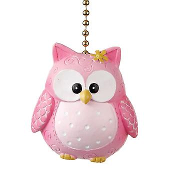 Pinky Hooty uil decoratief plafondventilator licht dimensionale Pull