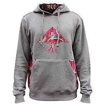 Lrg Nomad Brad Pullover Hoodie Charcoal Heather