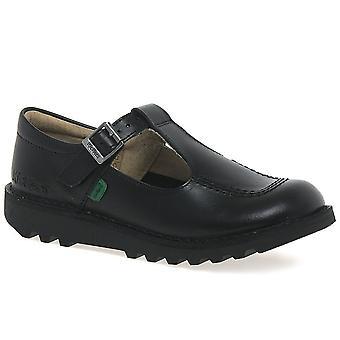 Kickers Kick T Girls Junior School zapatos