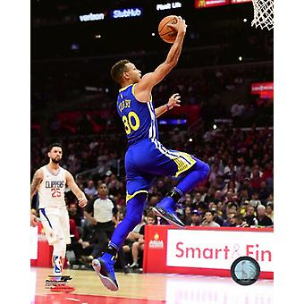 Stephen Curry 2017-18 akcji Photo Print