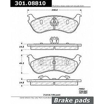 Centric (301.08810) Brake Pad, Ceramic