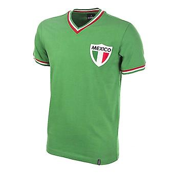 Mexico Pele 1980's Short Sleeve Retro Football Shirt