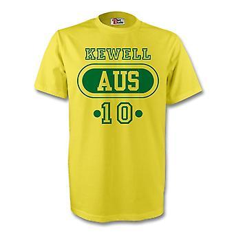 Tim Cahill Australien Aus T-shirt (gelb) - Kids
