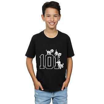 ديزني الأولاد 101 مرقش 101 تي شيرت الكلاب