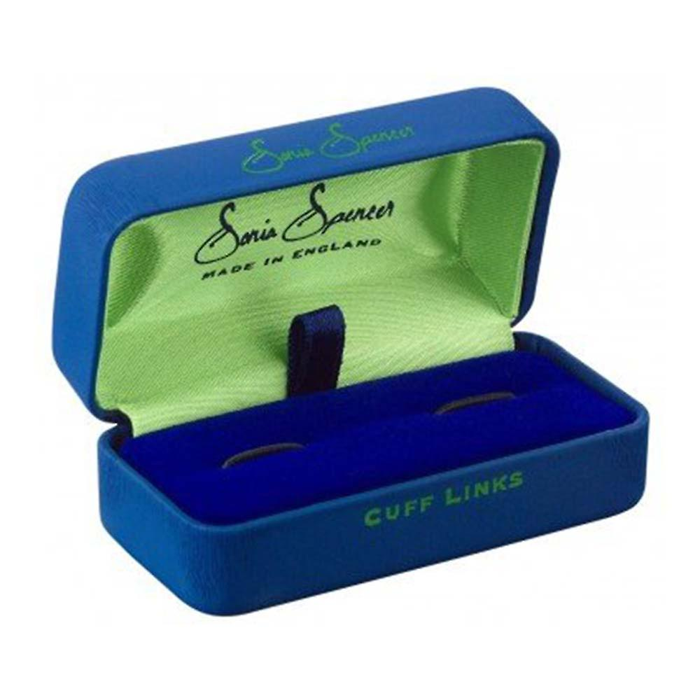 Rock Cufflinks by Sonia Spencer, in Presentation Gift Box. Music