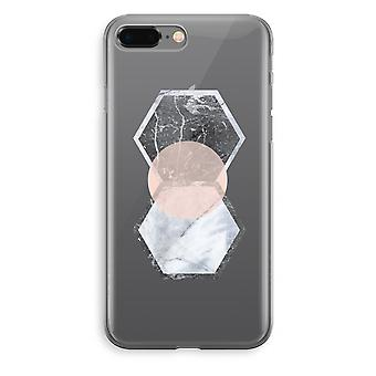iPhone 8 Plus Transparant Fall (Soft) - kreativen touch