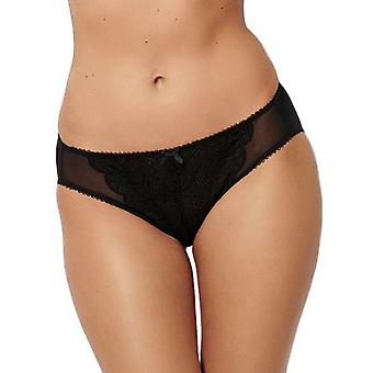 Sans Complexe 60XAA73 Women's Ariane Solid Colour Lace Knickers Panty Full Brief