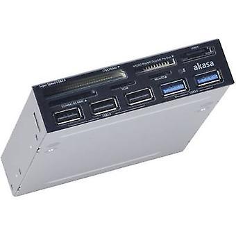 Akasa AK-ICR-17 3,5 interne geheugenkaartlezer zwart