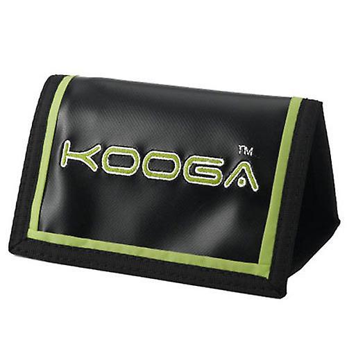KOOGA rugby velcro rip wallet [black/lime]
