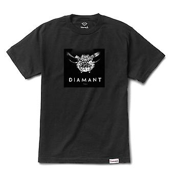 Diamant Supply Co Diamant Paris T-shirt noir