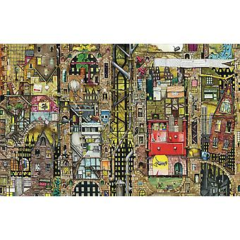 Schmidt Colin Thompson: Fantastic Cityscape Jigsaw Puzzle (1000 Pieces)