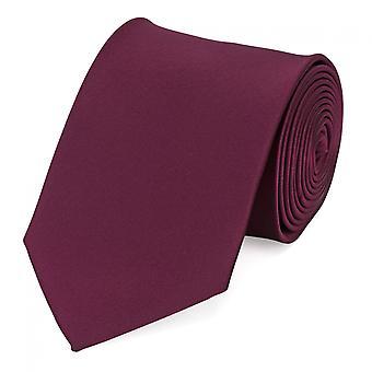 Knyta slips tie slips 8cm av röda körsbär röd uni Fabio Farini