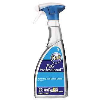 Flash Professional Disinfecting Multi-Surface Cleaner Spray
