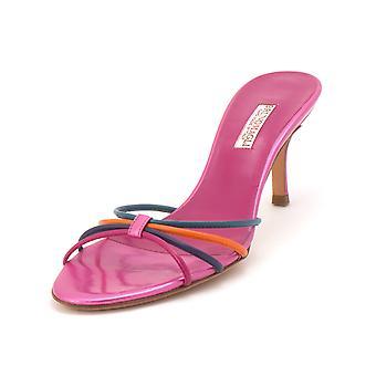 Bruno Magli Womens Nirsa Open Toe Casual Slide Sandals