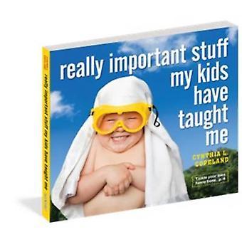 Echt belangrijke dingen mijn Kids hebben Me geleerd door Cynthia L. Copeland