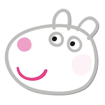 Suzy Sheep Card Fancy Dress Mask (Peppa Pig)