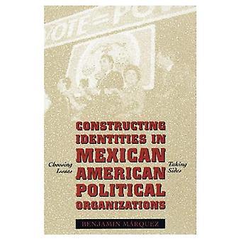 Construção de identidades nas organizações políticas mexicano-americana: escolha de questões, tendo os lados