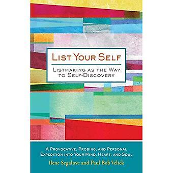 Lista itsesi: Listmaking tapa itsetuntemuksen