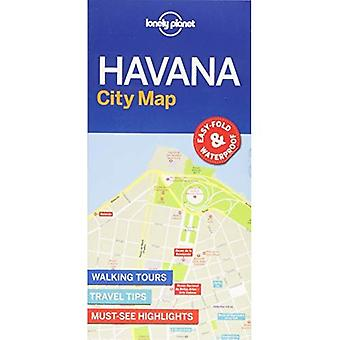 Lonely Planet Havanna City karta (karta)