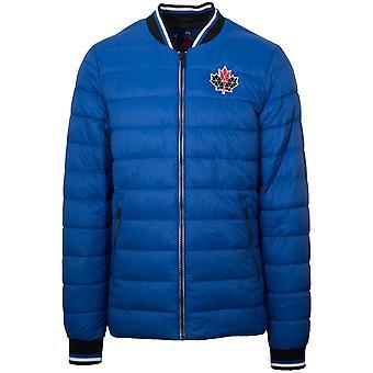 Moose Knuckles Team Blue Beaugrand Bomber Jacket