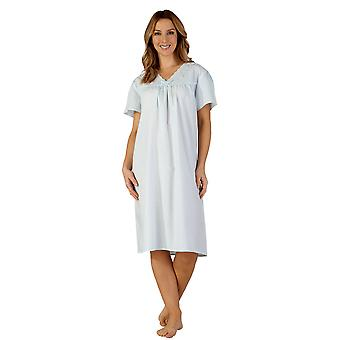 Slenderella ND3201 vrouwen geweven Night Gown Lounge Pyama