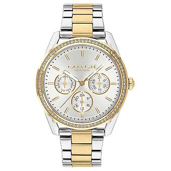 Coach   Preston   Chronograph Two Tone Silver And Gold   14503268 Watch