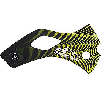 Elevação de formação máscara 2.0 Sting manga - amarelo/preto
