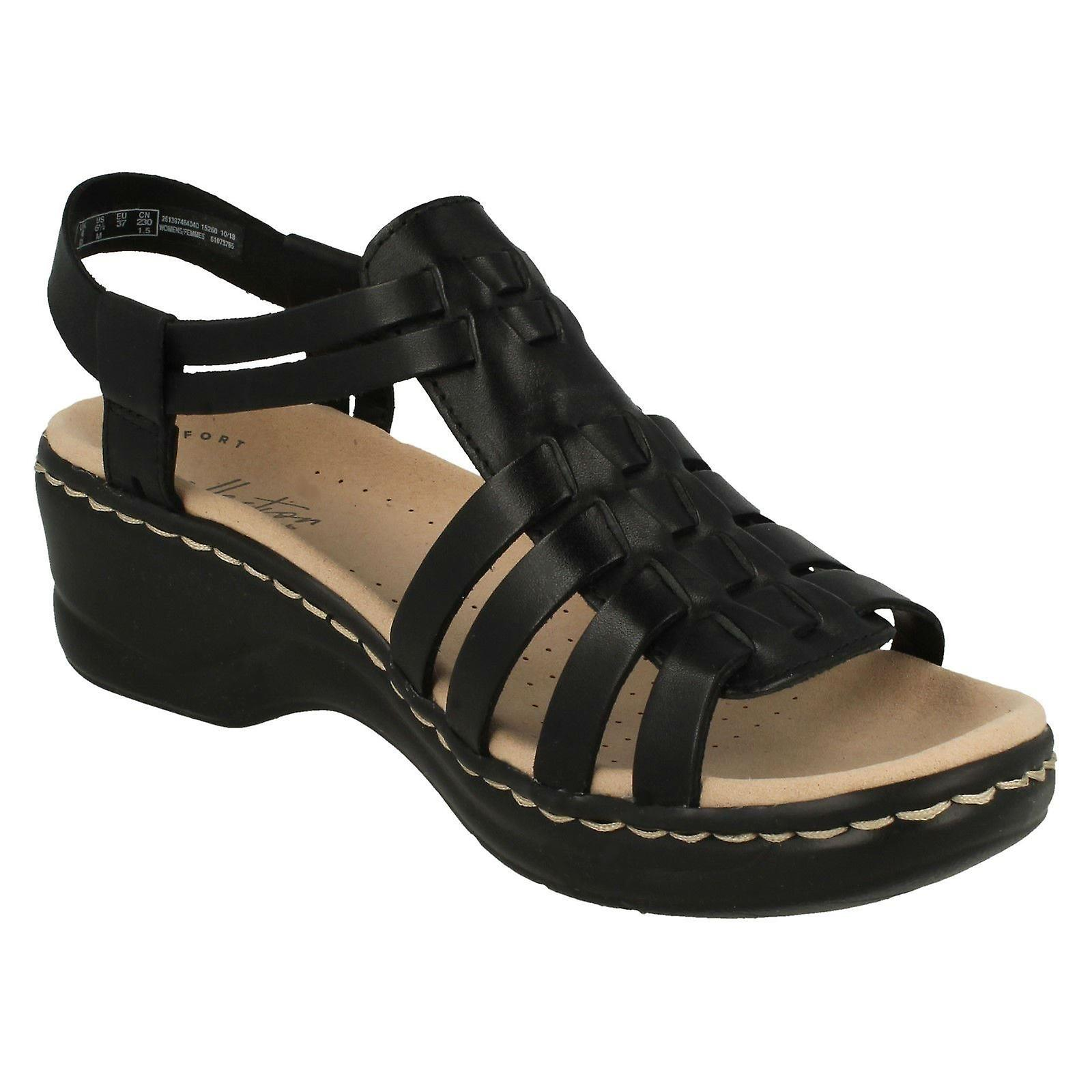 Ladies Clarks Gladiator Style Sandals Lexi Bridge