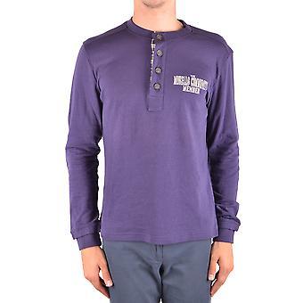 Frankie Morello Ezbc167001 Men-apos;s Purple Wool Sweater