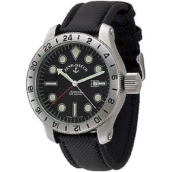 Zeno-Watch Miesten Watch Jumbo (Dual Time) 1563-a1